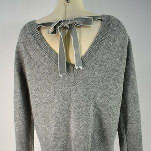 J Crew Tie back Sweater